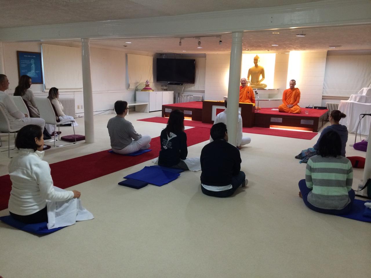 Group Meditation Session